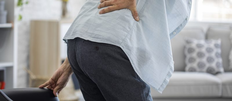 get rid of lower back pain