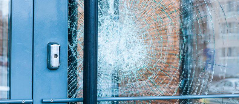 how to fix broken glass