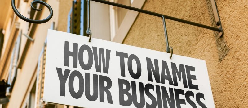name for your business
