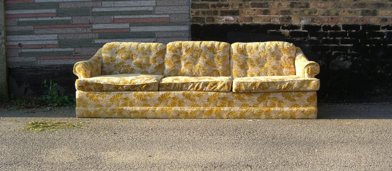 how to throw away a couch