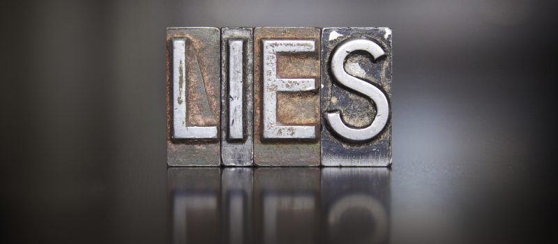 how to tell if a person is lying
