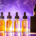 vaping liquid and vaper