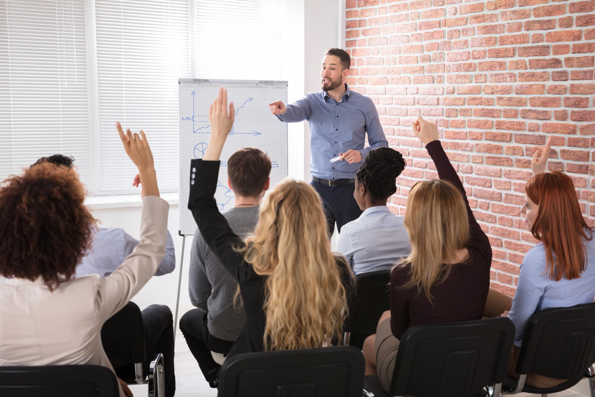 employee training session