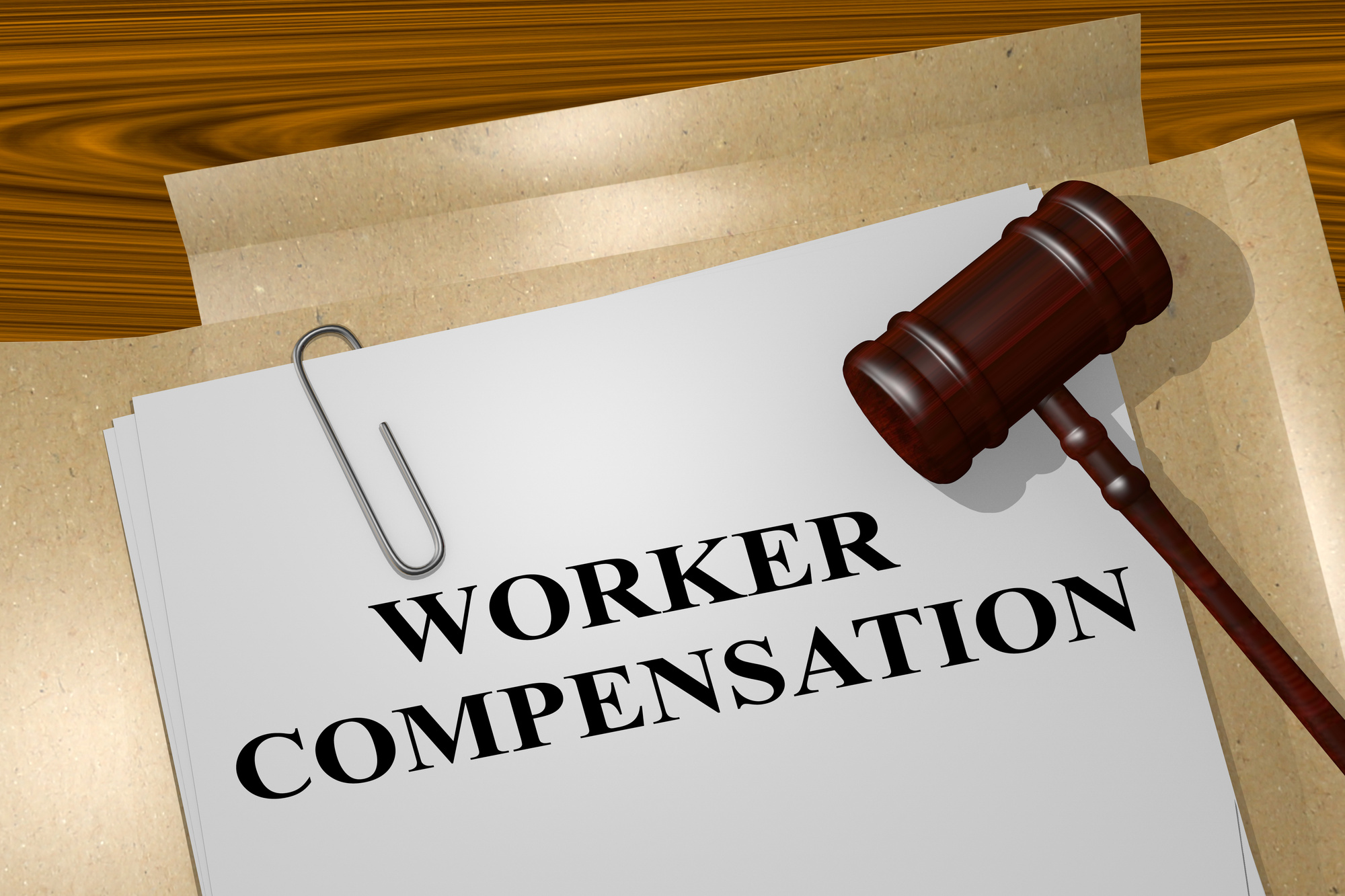 worker compensation on document