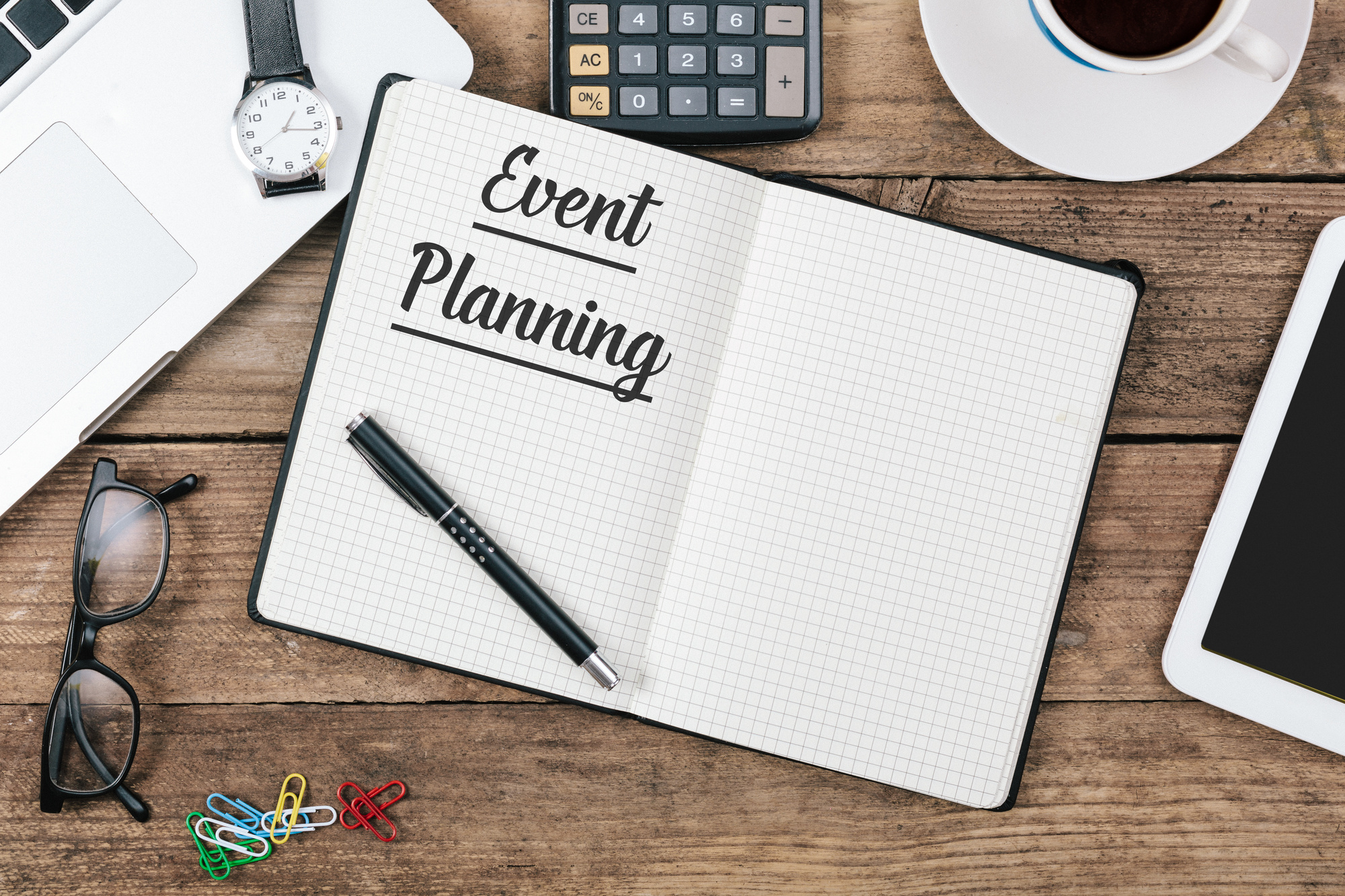 Event Planner's Checklist and Essentials