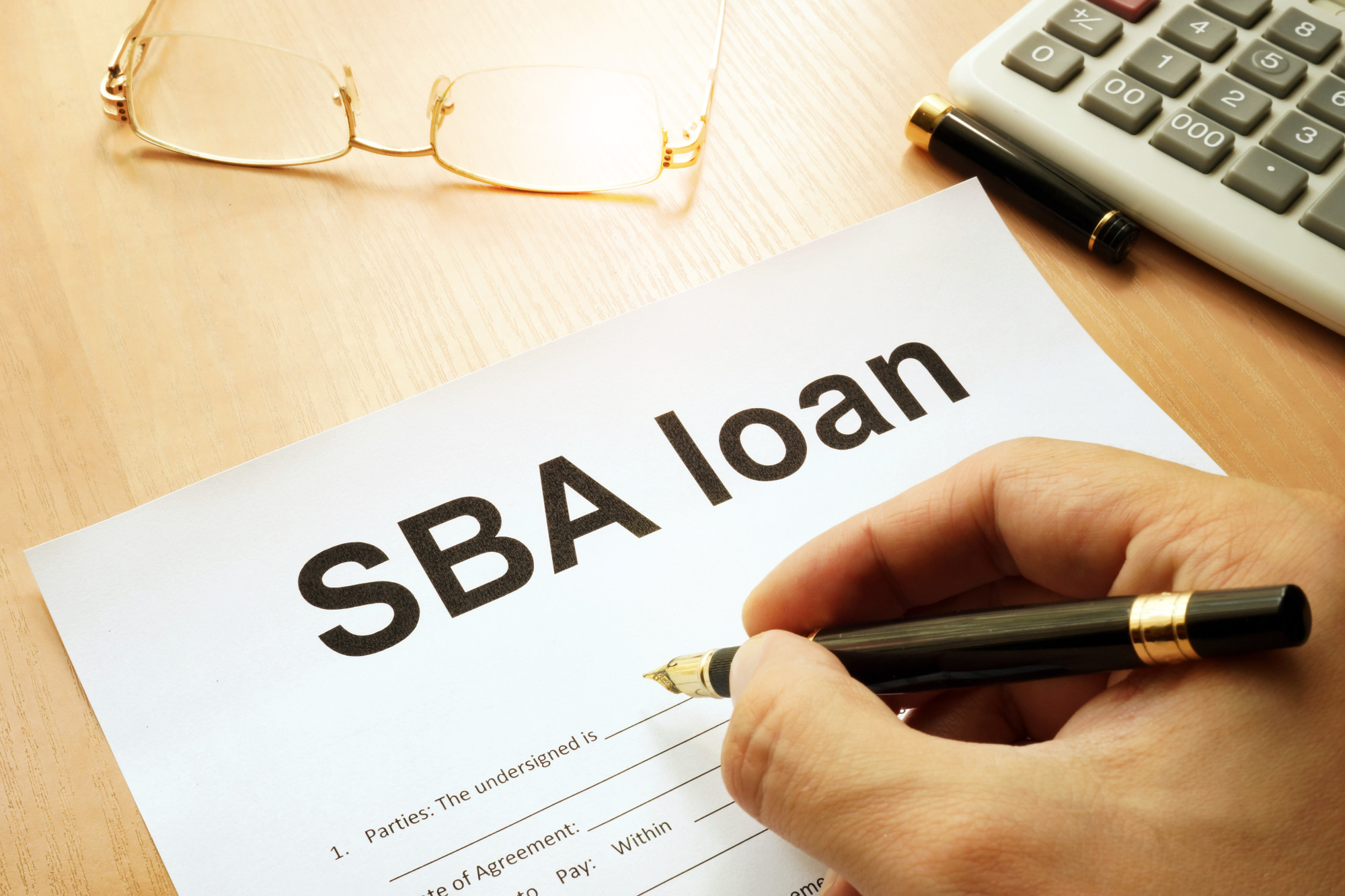 Filling out a Business Application Loan