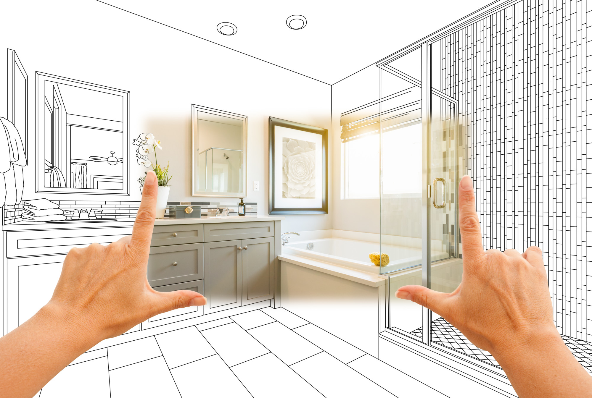 Bathroom Remodel Concept