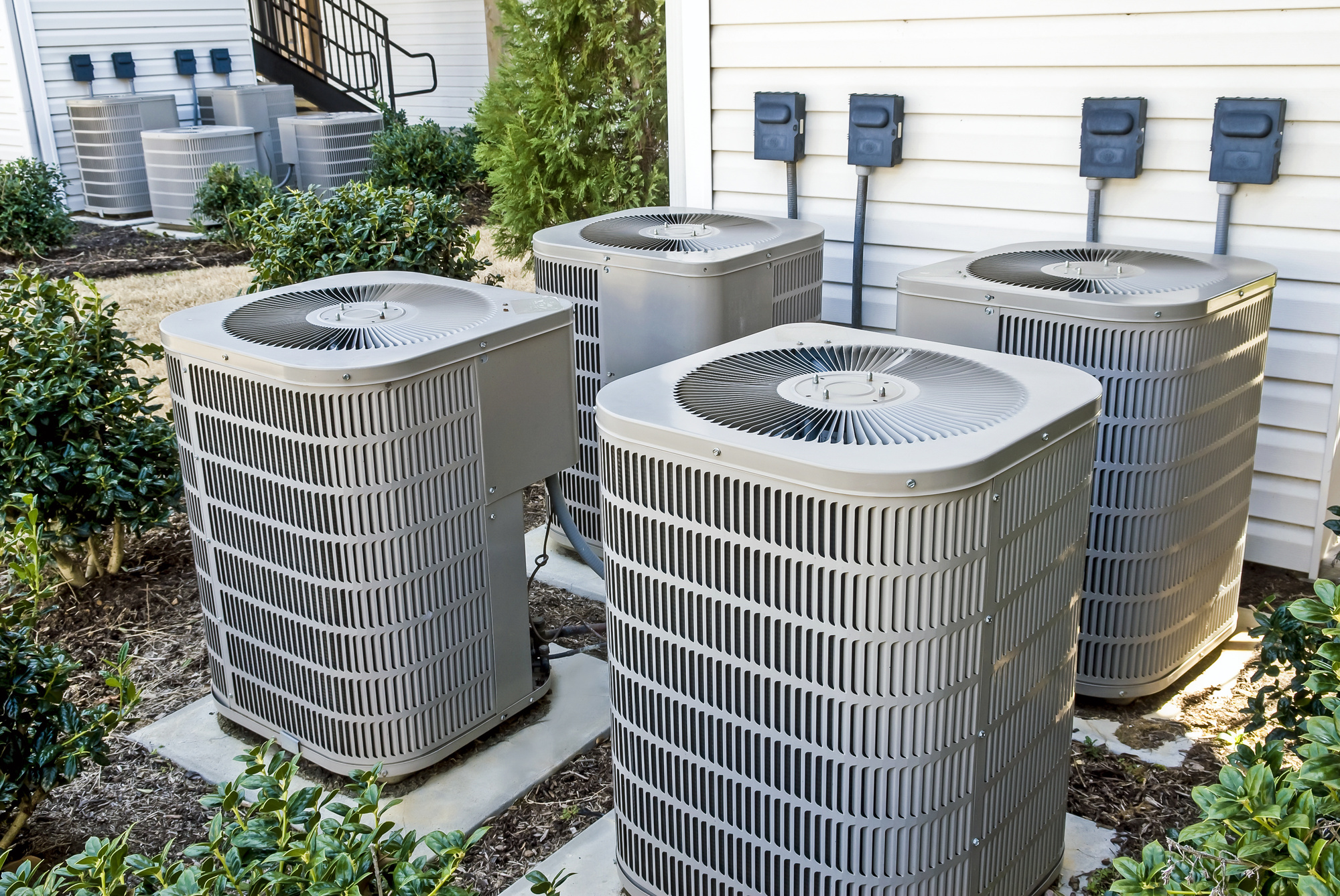 Outside Airconditioning Units