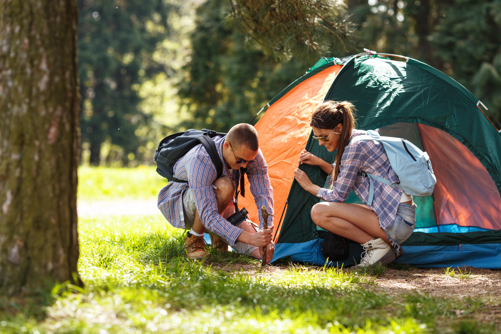 Cabin vs Tent